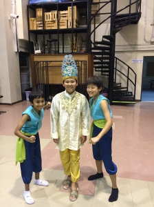 The Sultan and two of his royal guards.